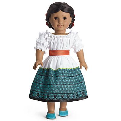 American Girl Josefina Montoya Nighttime Accessories Mini Doll Niña Only NEW
