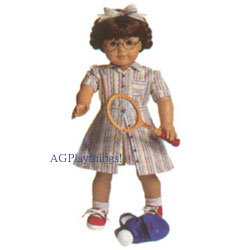 GOLD  GLASSES FIT AMERICAN GIRL DOLL MOLLY